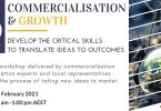 Innovative commercial growth workshop