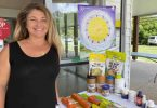 Naturopath, Roberta Muzzarelli, is a regular at Friday morning community catch ups, Saturday markets and Tuesday clinics at the Rainbow Beach Community Centre