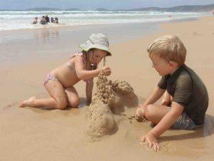 Make a sandcastle!
