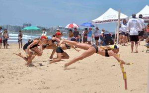 Rainbow Beach Nipper, Sienna Arthur, has won Queensland gold! Image Julie Pratt