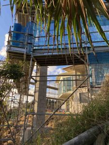 An undercover deck with seating for 120 and views galore is on its way at the Rainbow Beach Surf Club
