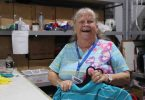Join volunteer Larraine Goodwin at Rainbow Beach Vinnies