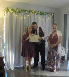 Wayne Cheryl Jones Wedding