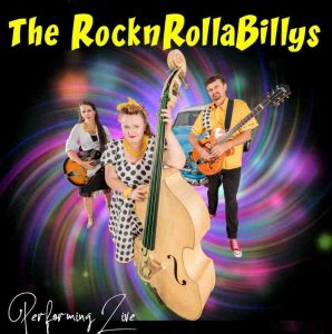 The RocknRollaBillys are at the Tin Can Bay Country Club
