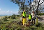 Find a local group, like Peter's at Inskip campground to help Clean Up Australia around March 7!