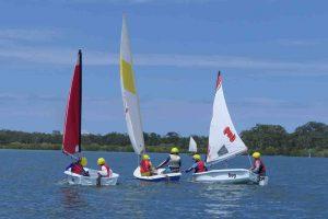 Junior sailing course - Making pirates