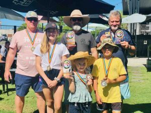Congratulations to the winners: Drew Gardiner (Senior Inshore Division on points), Jase Hopkins (Heaviest Species Inshore Division by weight), Jim McGuckin (Senior Offshore Division by points and Heaviest Species Offshore Division by weight), Alyvia Gurney (Junior Division on points), Libby Bennett (Junior Division for Heaviest Species by weight and third place overall on points) and Sonny Bennet (second place Junior Division on points)