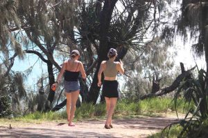 We have a beautiful environment to walk in, like Double Island Point, but almost three in four locals in our region are not physically active enough