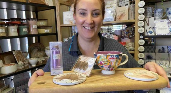 Jenni Dawson says Cooloola Coast Furniture and Bedding has lots of tempting presents in their new giftware corner - even if you are on a budget!