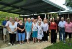 Over 60s visit the nut farm