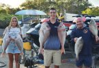 Gardiner Fisheries May 2021 - Amy Alex and Ash with Snapper and Sweetlip