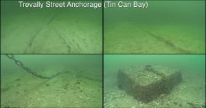 Trevally Street anchorage - Image by Josh Jensen, Undersea Productions