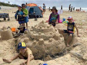 2021 Rainbow Beach Sandcastle Competition