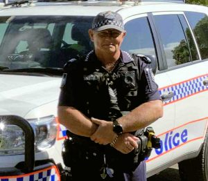 Sgt Mick Bazzo - OIC Tin Can Bay Police