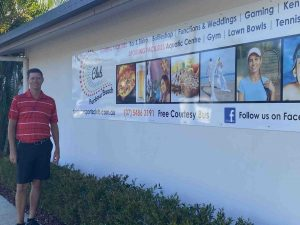 Welcome to Troy Somerville, the new General Manager at Rainbow Beach Sports Club
