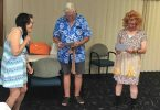 The skit by Kaye Olson, Don Beaton and John Olson brought a lot of laughter to Probus members
