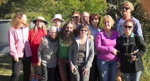 ABC personality, Costa Georgiadis will be buzzing to reconnect with locals and groups again, like Cooloola City Farm
