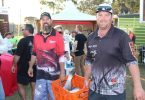 Dan and Josh Bauer from Pittsworth at the 2019 Fishing Classic