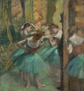 Edgar Degas Dancers, Pink and Green c.1890