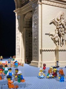 Brickman LEGO® exhibition - Arc de Triomphe