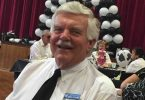 """Probus President, Daryl Christie, """"lit up"""" at the Children's Hospital fundraiser"""