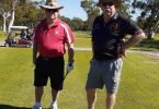 Rainbow Beach Resident, Barry Hudson, and Lindsay Cullen prepare for 4BBBStroke Championships