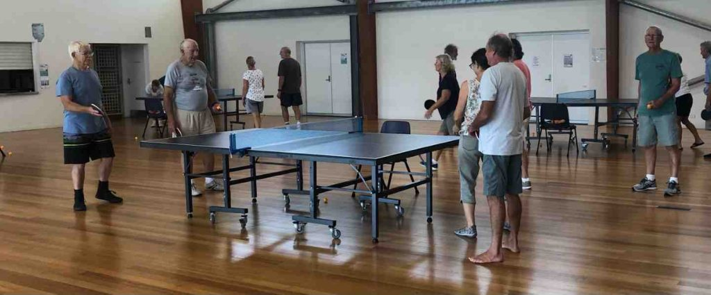 Every Wednesday 8 to 10am, come to the Rainbow Beach Community Centre for some friendly and competitive table tennis. It's only $2 - and all levels are welcome. Contact Bob Gudge on 0417 605 484 to find out more.