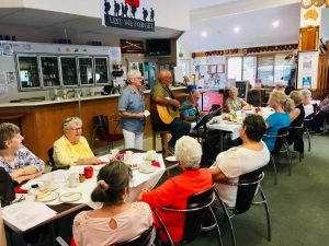 Entertainment, delicious treats and fun at the RSL morning teas