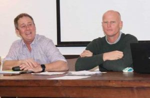 After resigning his role as RBCT President, Nigel Worthington was thanked by Mayor Glen Hartwig