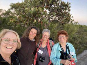 Sue Davis, Linda Tabe, Ellen Appleby, and Joolie Gibbs will be leading walks or workshops at Wildflowering Cooloola on August 7