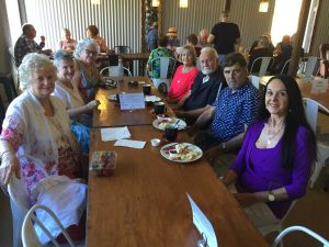 The Over 60s group enjoyed delicious strawberries and wonderful company on their recent outing