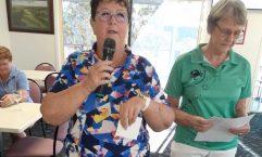 Sandra Reibel was last month's Division 1 Medal Winner