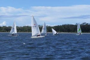 Racers faced challenging conditions in the final of the Spring series